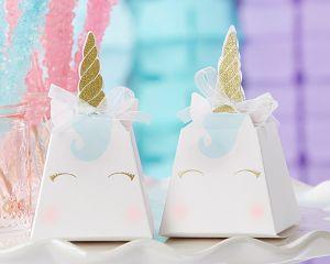Unicorn Favor Box (Set of 12)