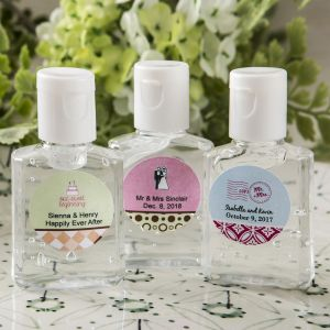 Wedding Hand Sanitizer Favors 30 ML