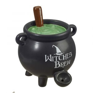 Witches Brew Cauldron Pipe