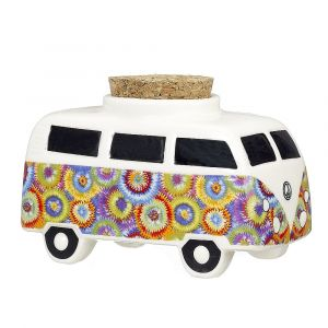 Vintage Bus Stash Jar